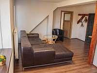 společenský prostor - apartmán k pronajmutí Jindřiš