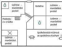 Chelčice - chalupa k pronajmutí - 12