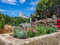 dolní zahrada - Rožmberk nad Vltavou