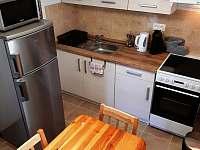 Kuchyň - chata k pronájmu Podolsko