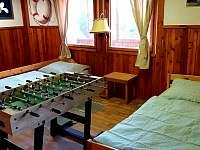 Ložnice velká - chata k pronajmutí Podolsko