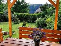 venkovní posezení - chata ubytování Podolsko