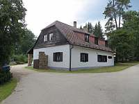 ubytování na samotě v Jižních Čechách