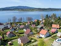 výhled z chaty v Radslavi - k pronajmutí