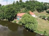 Chalupa k pronajmutí - dovolená Koupaliště Nový Dvůr - Vltava rekreace Hutě u Bechyně
