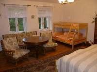 první obývací ložnice - Hutě u Bechyně