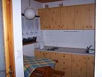 Kuchyňka - apartmán k pronajmutí Třeboň