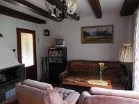 Obývák - chata k pronajmutí Týn nad Vltavou