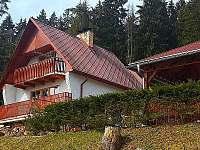 Chata Karlovy Dvory - ubytování Horní Planá - Karlovy Dvory