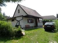 Chata Radslav - Pohled od příjezdové cesty
