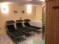 Finská sauna (za příplatek 250Kč/hod.) - chata k pronájmu Protivín