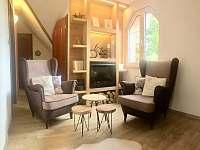 Apartmán v podkroví - krb - vila ubytování Třeboň
