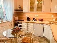 Kuchyně apartmán v přízemí - vila k pronájmu Třeboň