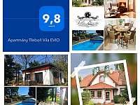 Vila Evio www.trebon-vilaevio.cz - k pronajmutí Třeboň