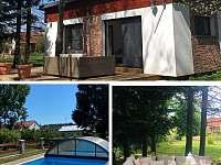 Zahradní bungalov pro 4 osoby - Třeboň