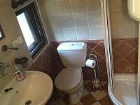 Koupelna - chalupa k pronajmutí Pohorská Ves