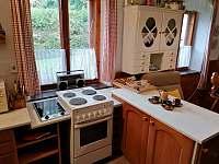 kuchyňský kout - chalupa ubytování Pohorská Ves