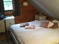 Ložnice č.2 podkroví - chalupa k pronájmu Pohorská Ves