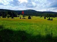 Umístění v krajině - pronájem chalupy Pohorská Ves