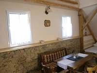 interiér - pronájem chalupy Mutyněves