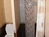 koupelna - chata k pronájmu Lásenice