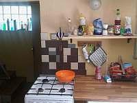 Společenská místnost - pronájem chaty Lásenice