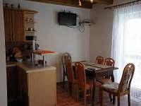 jídelna - chata ubytování Neznašov
