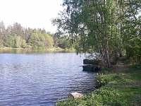 možnost rybaření u Vltavy