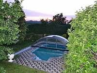 bazén - chalupa k pronajmutí Kardašova Řečice
