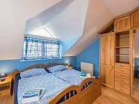 Druhá ložnice - chalupa ubytování Kardašova Řečice