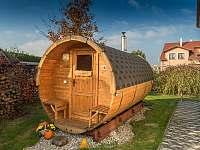 Sauna - chalupa ubytování Kardašova Řečice