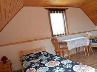 ložnice pro 2 osoby - pronájem chalupy Frahelž