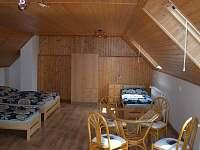 ložnice pro 4 osoby - pronájem chalupy Frahelž