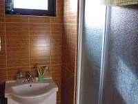 Koupelna - chata k pronájmu Hůrka u Horní Plané