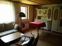 Obývák - chata ubytování Hůrka u Horní Plané