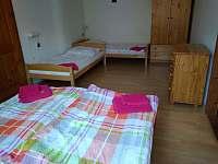 Ložnice 1 - apartmán v přízemí