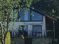 Chata ze předu - ubytování Lipno nad Vltavou - Slupečná