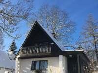 Zima na Lipně - chata k pronájmu