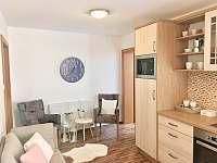 Kuchyně - apartmán v podkroví - rekreační dům k pronajmutí Třeboň