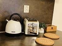 Plně vybavené kuchyně včetně kávovaru ☕️ - rekreační dům k pronájmu Třeboň