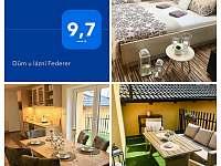 Podkrovi domu 85m2 - rekreační dům ubytování Třeboň