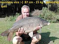 Kapr 87 cm - 15 kg