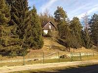 Chata v Krumlovské zahradě od silnice - ubytování Český Krumlov