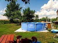 bazén s posezením - Dudov u Malšic