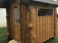sauna pro 6 osob - chata k pronajmutí Spolí