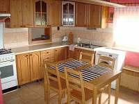kuchyn - chata ubytování Posudov