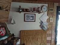 hlavní místnost - chata ubytování Hutě u Bechyně
