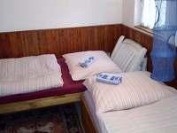 ložnice - chata k pronájmu Hutě u Bechyně