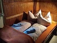ložnice - chata k pronajmutí Hutě u Bechyně