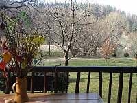 výhled na řeku - Hutě u Bechyně